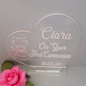 First Communion Keepsake Gift